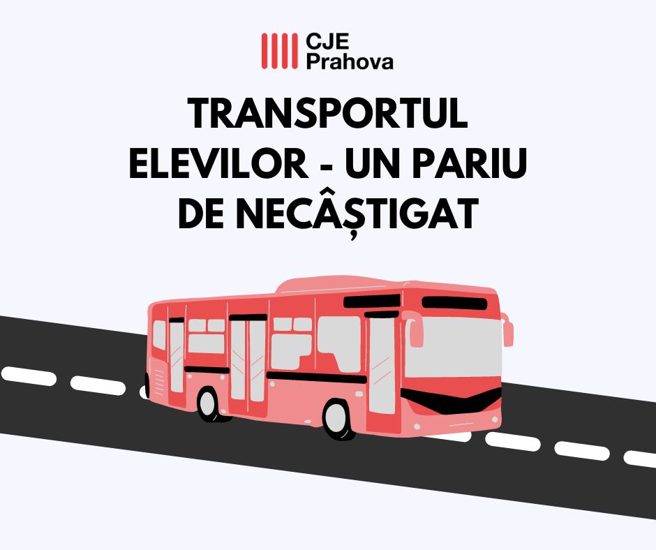 Transportul elevilor – un pariu de necâștigat!